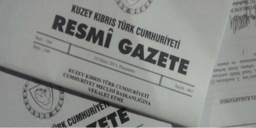 RESMİ GAZETE ÜCRETİ ARTTI