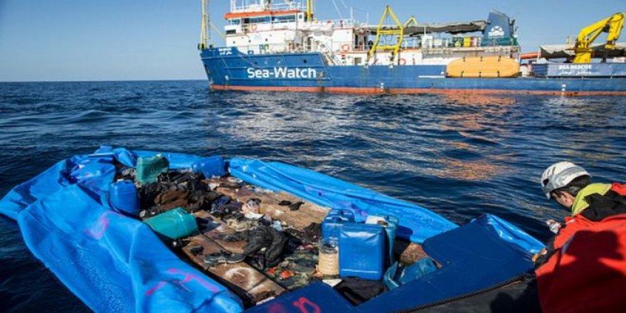 """Akdeniz'de 170 göçmen """"ölü ya da kayıp"""""""