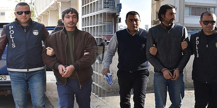 GÜNEY KIBRIS'TA EYLEMLERE KATILDILAR!