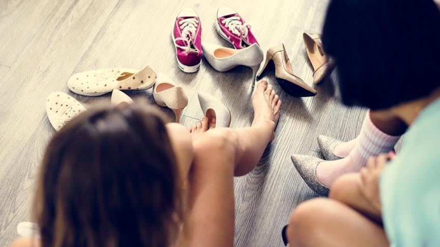 Topuklu ayakkabı giyen bayanlar dikkat!
