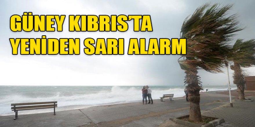 GÜNEY KIBRIS'TA SARI ALARM VERİLDİ!
