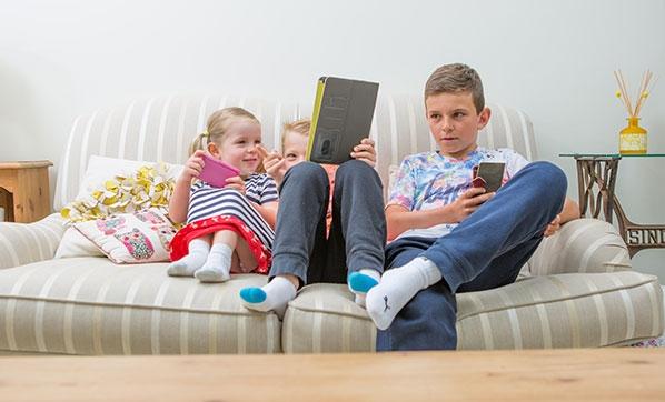 'Ekrana maruz kalan çocuklarda dikkat eksikliği olabilir'