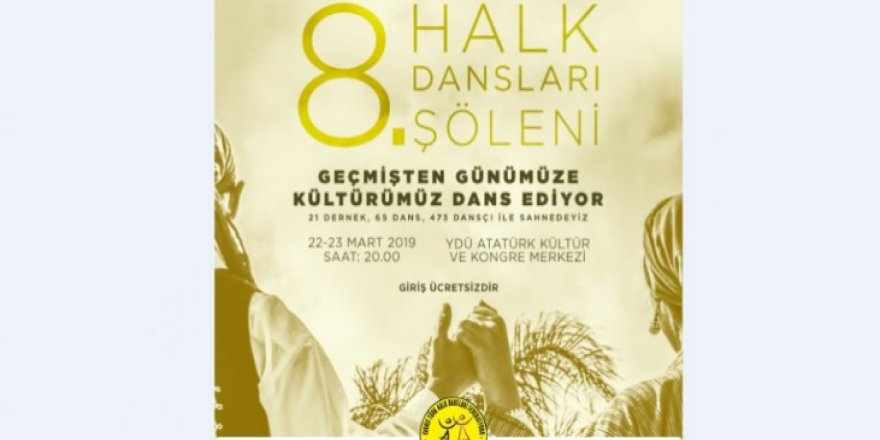 """""""8. HALK DANSLARI ŞÖLENİ"""""""