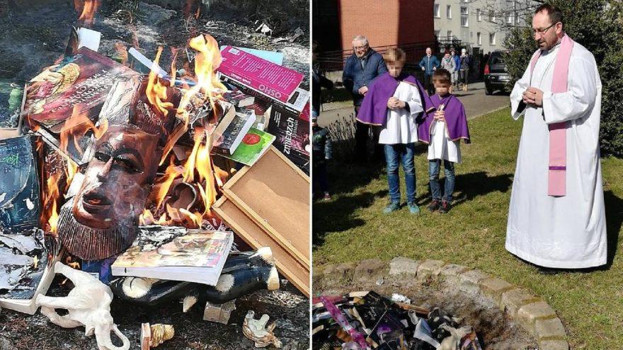 Kilise Harry Potter kitaplarını yaktı
