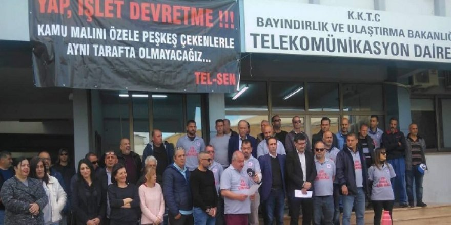 TEL-SEN GÜZELYURT'TA EYLEM DÜZENLEDİ