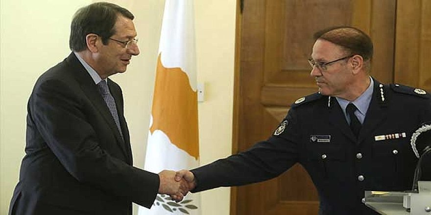 Yeni Rum Polis Genel Müdürü Kipros Mihailidis