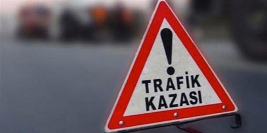TRAFİK KAZASI: 1 AĞIR YARALI!
