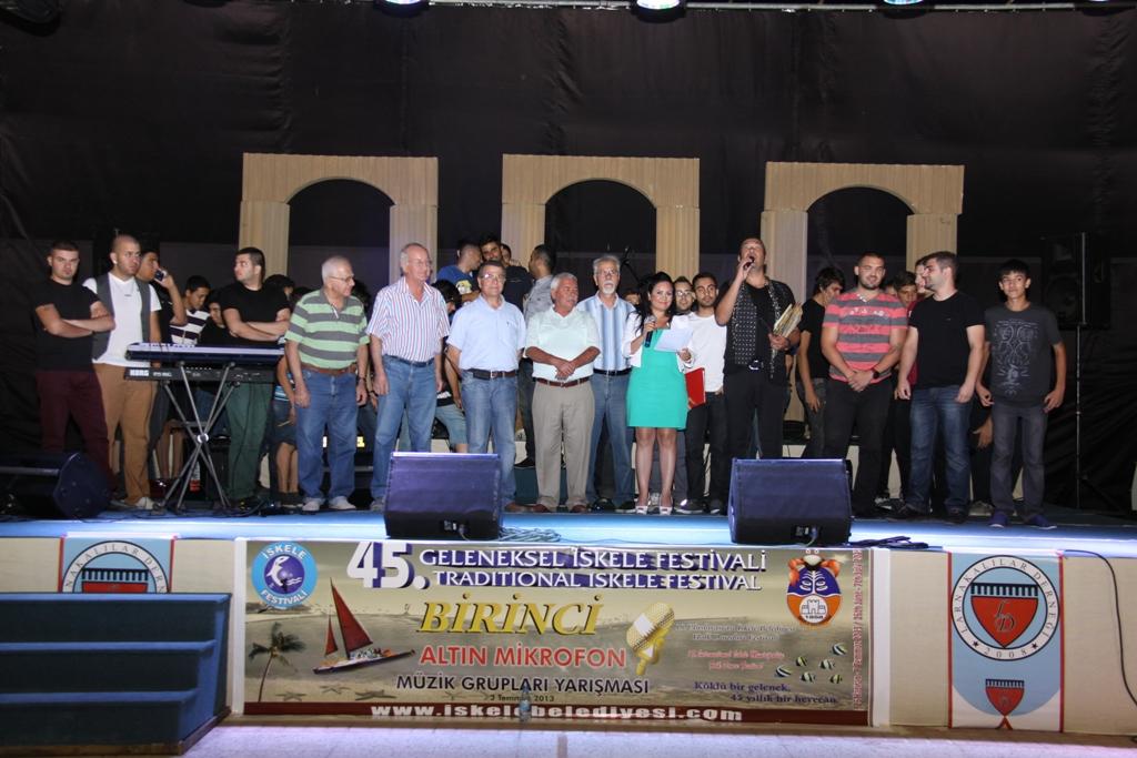 45. GELENEKSEL İSKELE FESTİVALİ'NDE LARNAKA'LILAR BULUŞTU