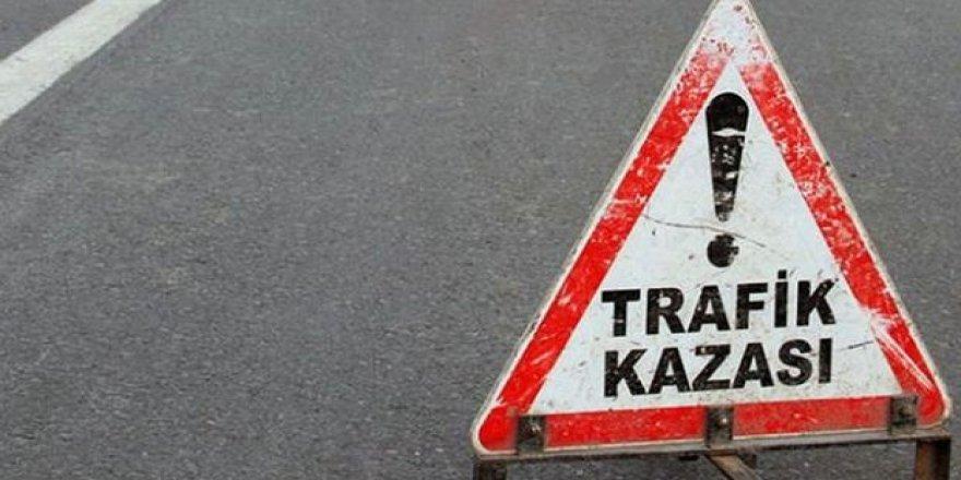 MAĞUSA'DA TRAFİK KAZASI: 1 AĞIR YARALI!