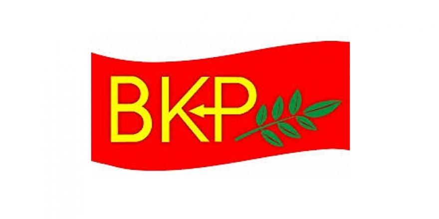 BAKP'DEN HÜKÜMETE ELEŞTİRİ