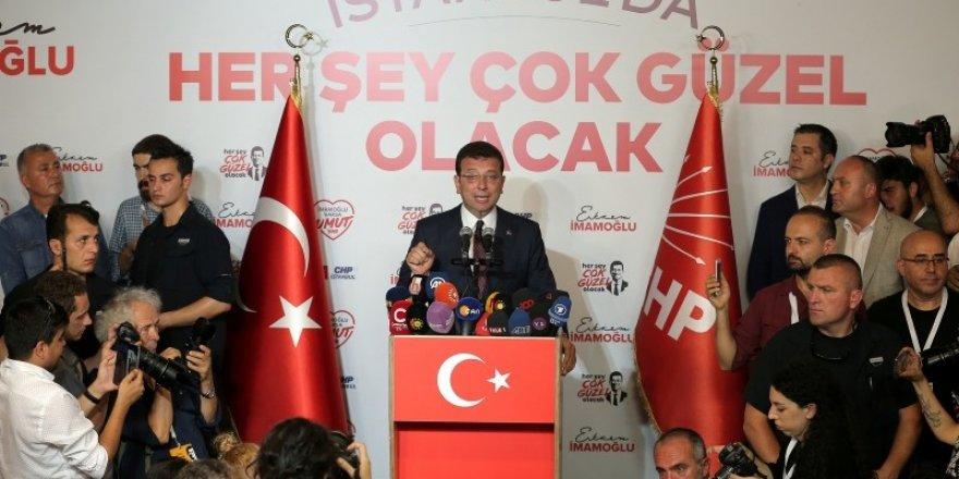 Zafer konuşmasında Erdoğan'dan randevu istedi