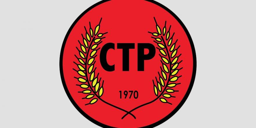 CTP, HRİSTOFYAS İÇİN BAŞSAĞLIĞI MESAJI YAYIMLADI