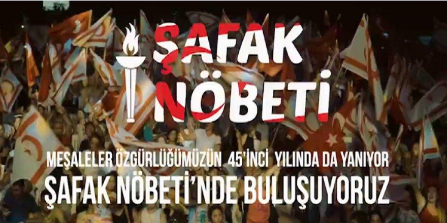 BU GECE 'ŞAFAK NÖBETİ' TUTULACAK