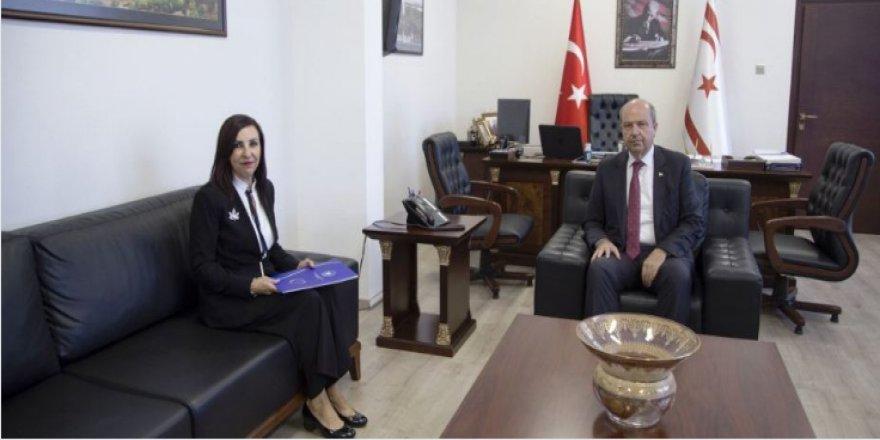 BAŞBAKAN TATAR, DİZDARLI'YI KABUL ETTİ