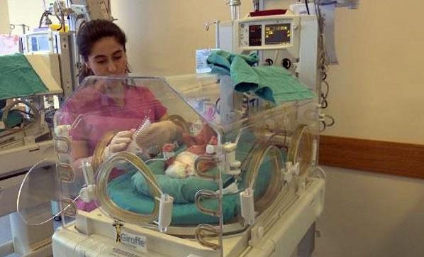 Prematüre bebekleri bekleyen tehlike!