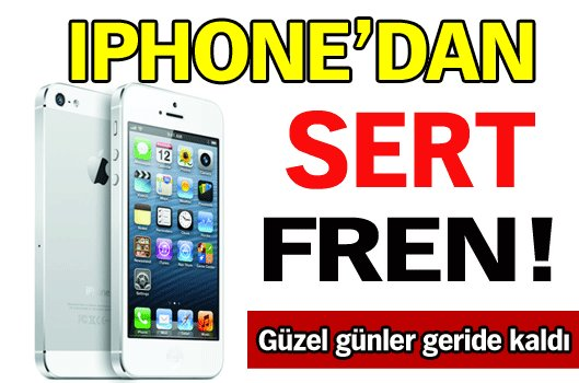 IPHONE'DAN SERT FREN!