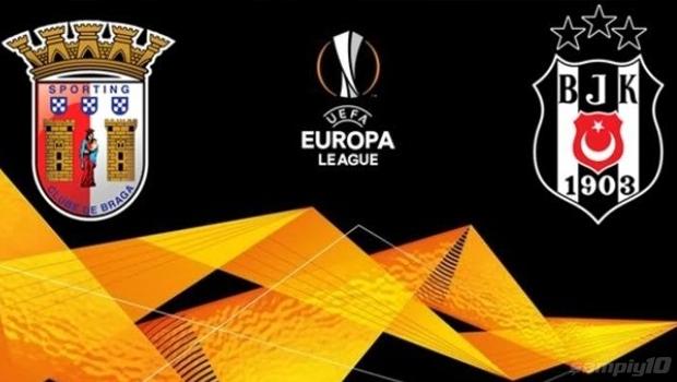 Braga - Beşiktaş maçı hangi kanalda, saat kaçta? şifresiz mi?