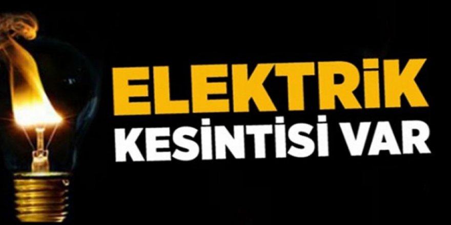 ELEKTRİK KESİNTİSİ VAR!