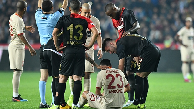 Galatasaray'a kötü haber! Florin Andone...