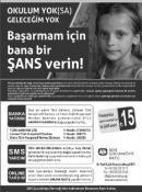 SOS ÇOCUKKÖYÜ YARDIM KAMPANYASI BAŞLATI