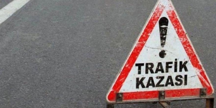 KARTAL HARMAN TRAFİK KAZASI GEÇİRDİ!