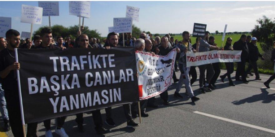 TRAFİKTE BAŞKA CANLAR GİTMESİN EYLEMİ!