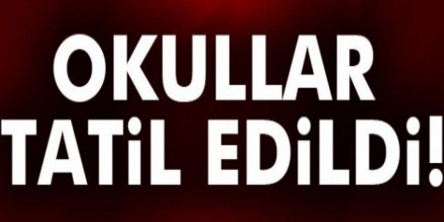 OKULLAR TATİL EDİLDİ!
