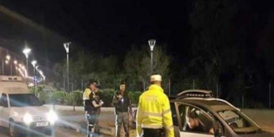 POLİS 3 BÖLGEDE TRAFİK DENETİMİ YAPTI