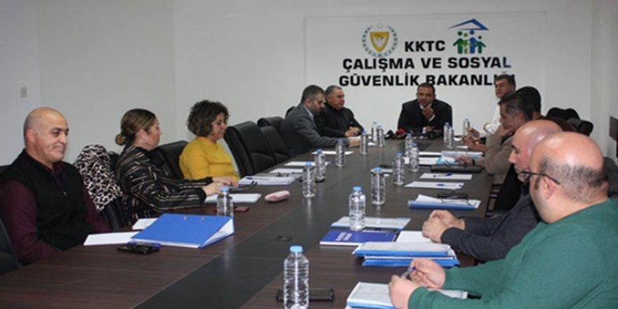 ASGARİ ÜCRET SAPTAMA KOMİSYONU TOPLANDI