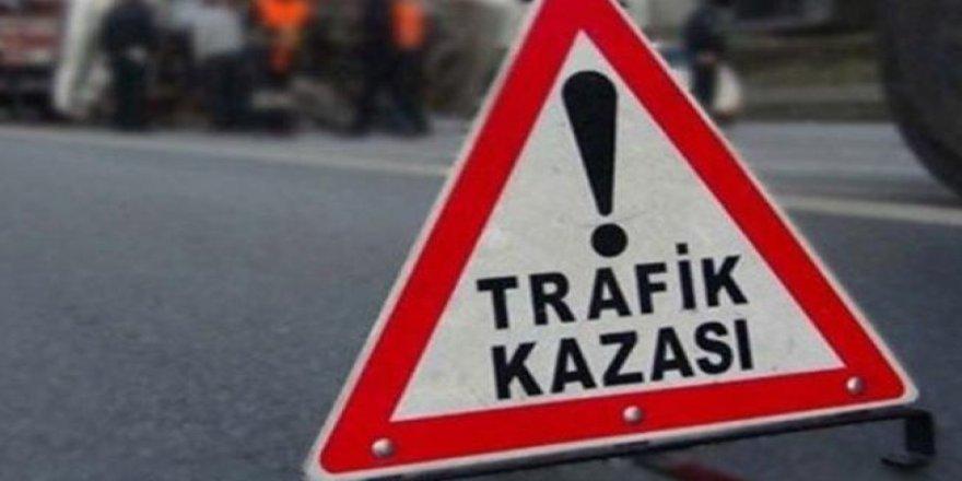 Girne- Alsancak yolunda feci kaza