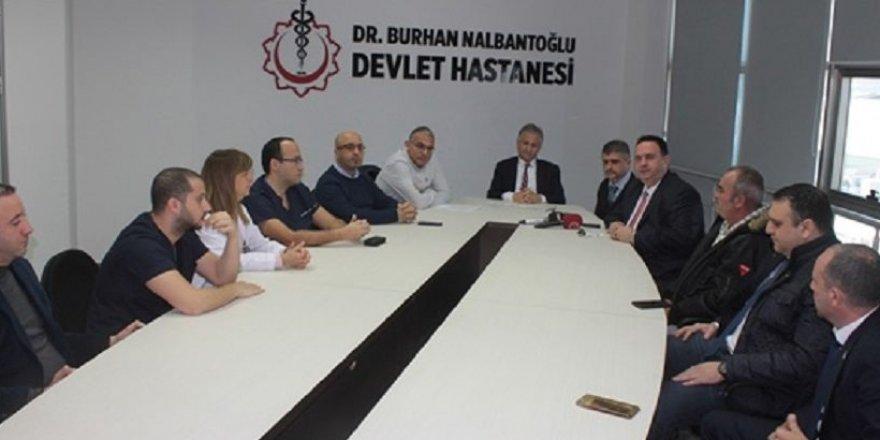 ORGAN NAKİLLERİYLE İLGİLİ BASIN TOPLANTISI...