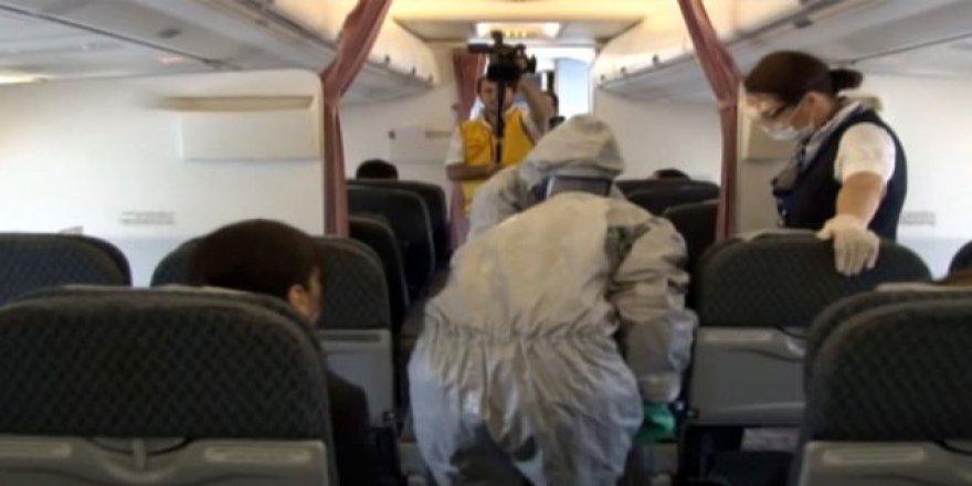 Tüm dünyayı paniğe sevk eden coronavirüs için İstanbul Havalimanı'nda önlem