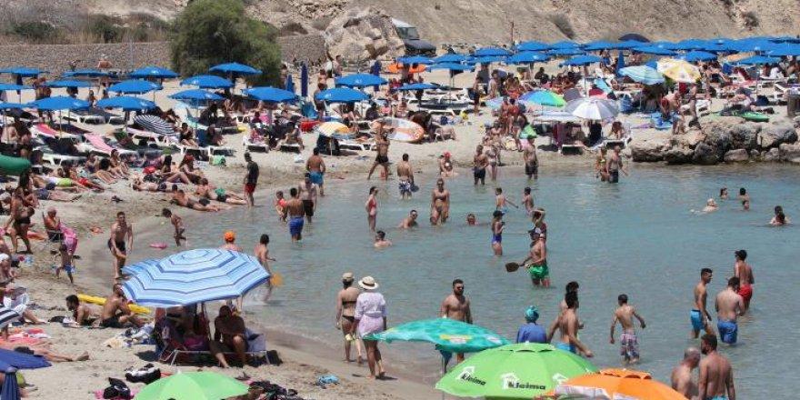 Güney Kıbrıs'a Ocak Ayında 85 Bin Turist!