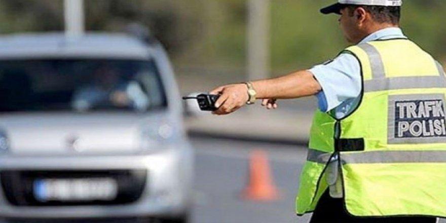 Polisin trafik kontrolleri sürüyor…