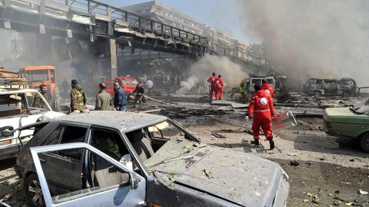 ŞAM'DA BOMBALI SALDIRI: EN AZ 40 ÖLÜ