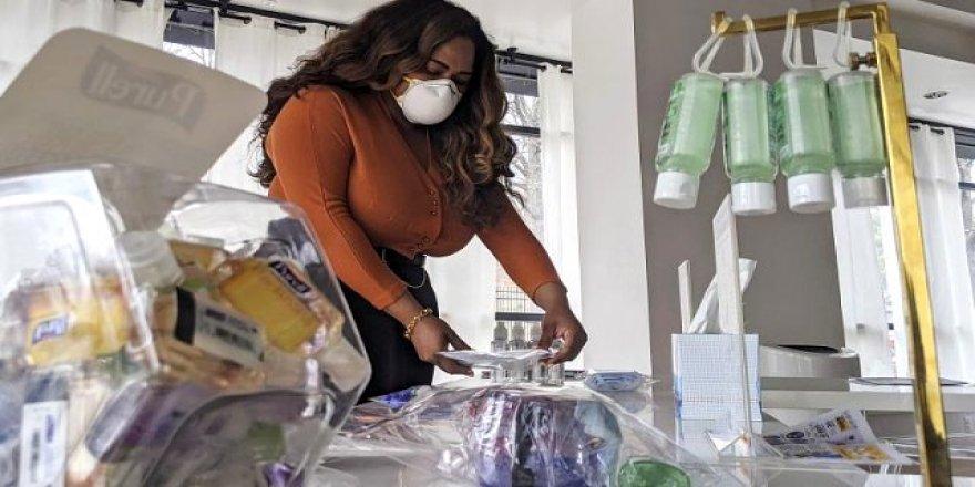 Krizi fırsata çevirdi!Dünyanın ilk koronavirus mağazası açıldı