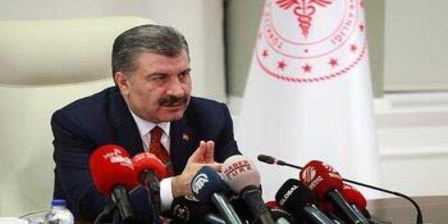 Türkiye'de toplam vaka sayısı 670'e yükseldi