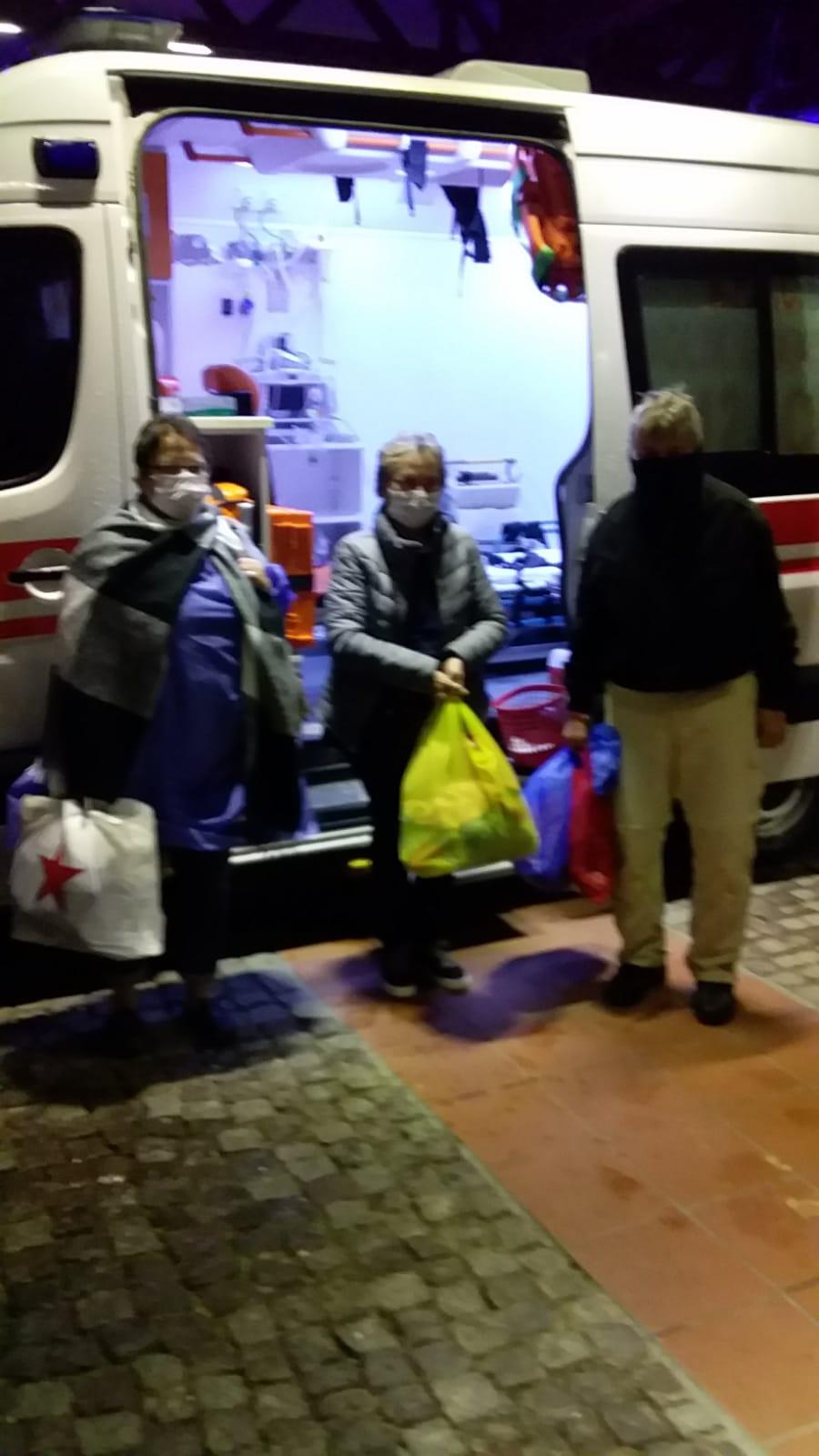 Tedavileri tamamlanan 3 Alman turist taburcu edildi