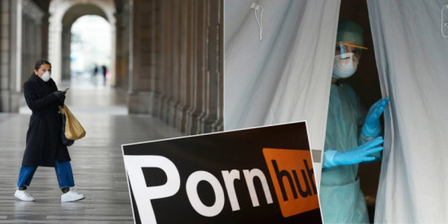 Pornhub, koronavirüsle mücadelede: Küresel çapta premium hizmet 23 Nisan'a dek bedava