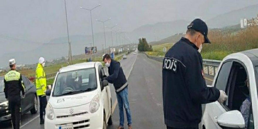 107 kişi sokağa çıkma yasağını ihlal etti!