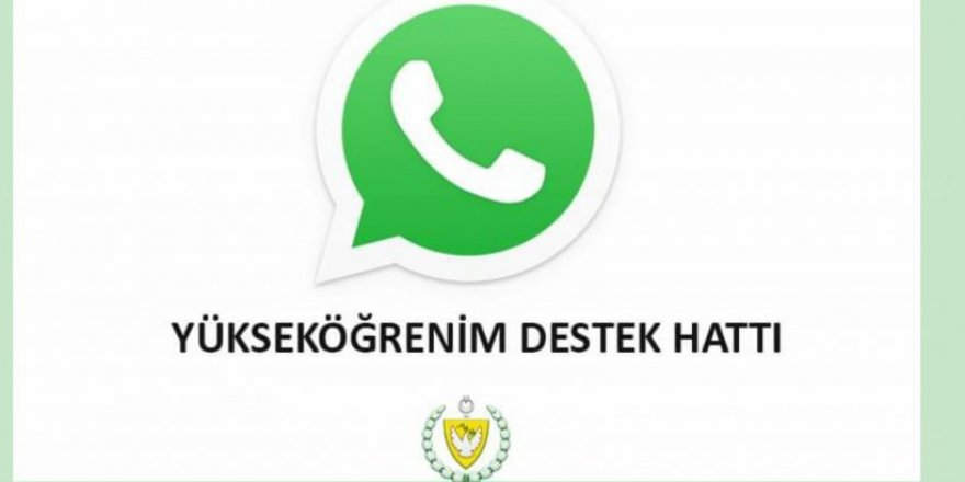 Yükseköğrenim 'WhatsApp Destek Hattı' devreye giriyor