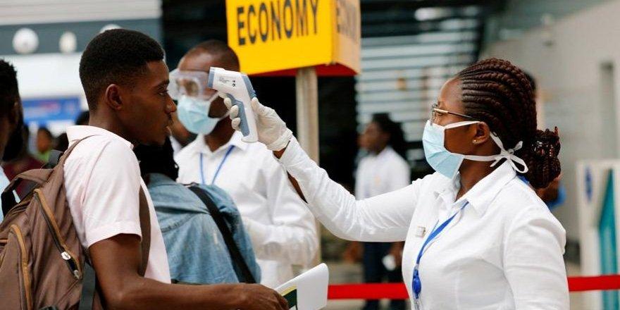 Havalimanlarında dikkat çeken corona virüsü önlemleri