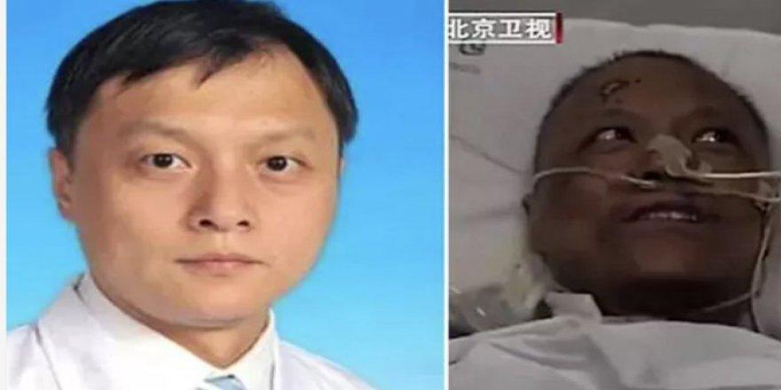 Çin'de 4 aydır tedavi gören ve cilt rengi koyulaşan doktor hayatını kaybetti