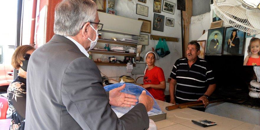 Mustafa Akıncı; Geleneksel çarşımız ne yazık ki çok zor günlerden geçiyor