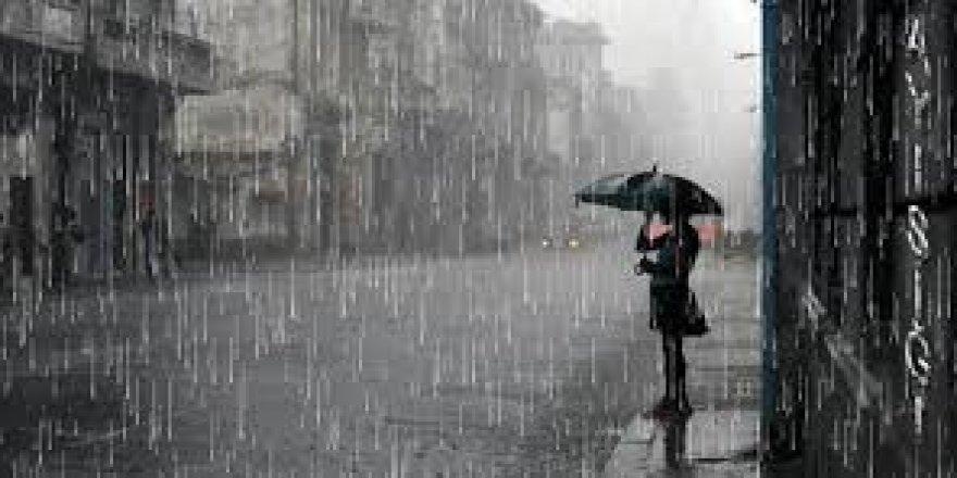 Hafta sonu ve pazartesi günü yer yer yağmur bekleniyor