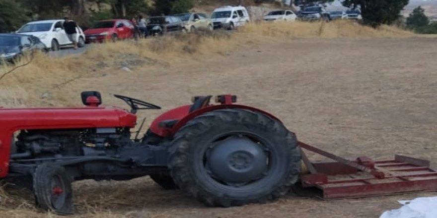 Traktör kazasında bir kişi hayatını kaybetti