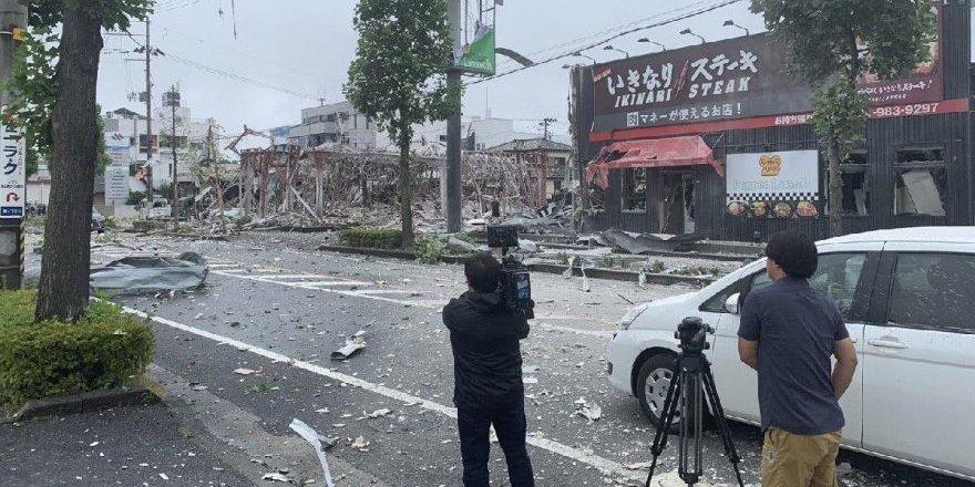 Restoranda patlama: 1 ölü, 18 yaralı