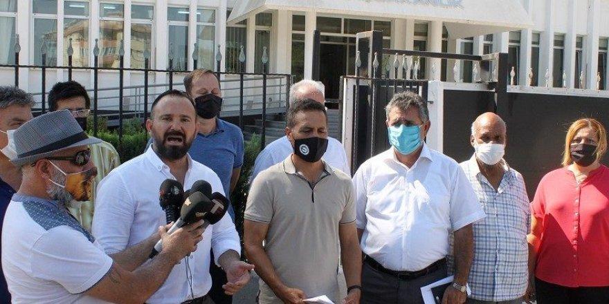 Sendikal Platform Başbakanlık önünde basın açıklaması yaptı