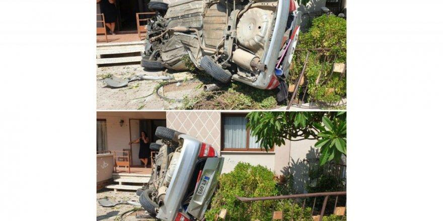 Karşıyaka'da korkutan kaza!