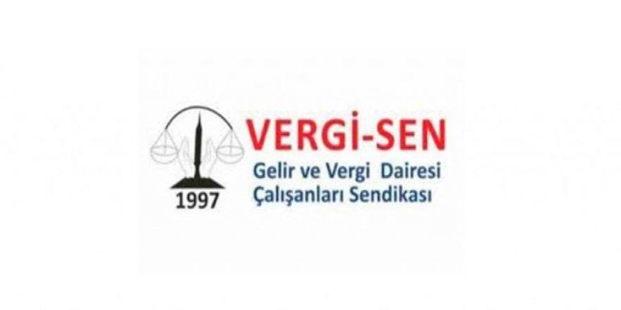 Vergi-Sen, Vergi Dairesi'nin, Girne, Mağusa, İskele ve Güzelyurt şubelerindeki veznelerinde grev kararı aldı